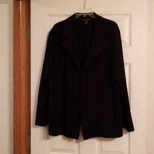 Womans black blazer